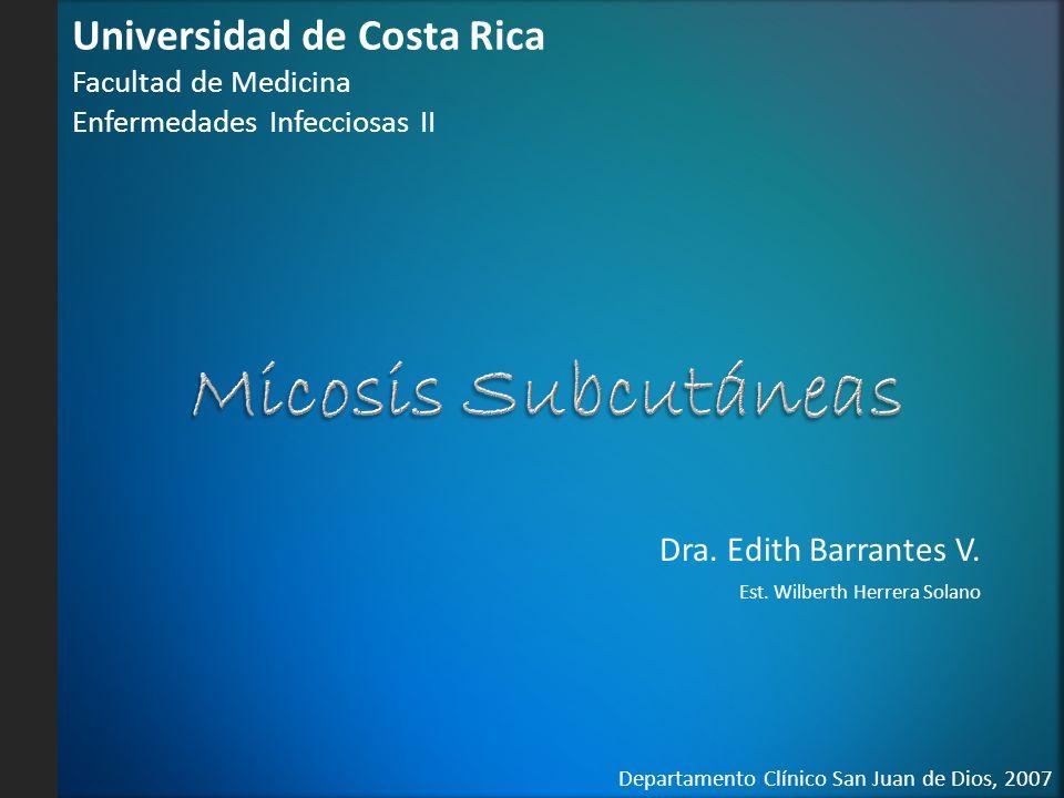 Dra. Edith Barrantes V. Est. Wilberth Herrera Solano