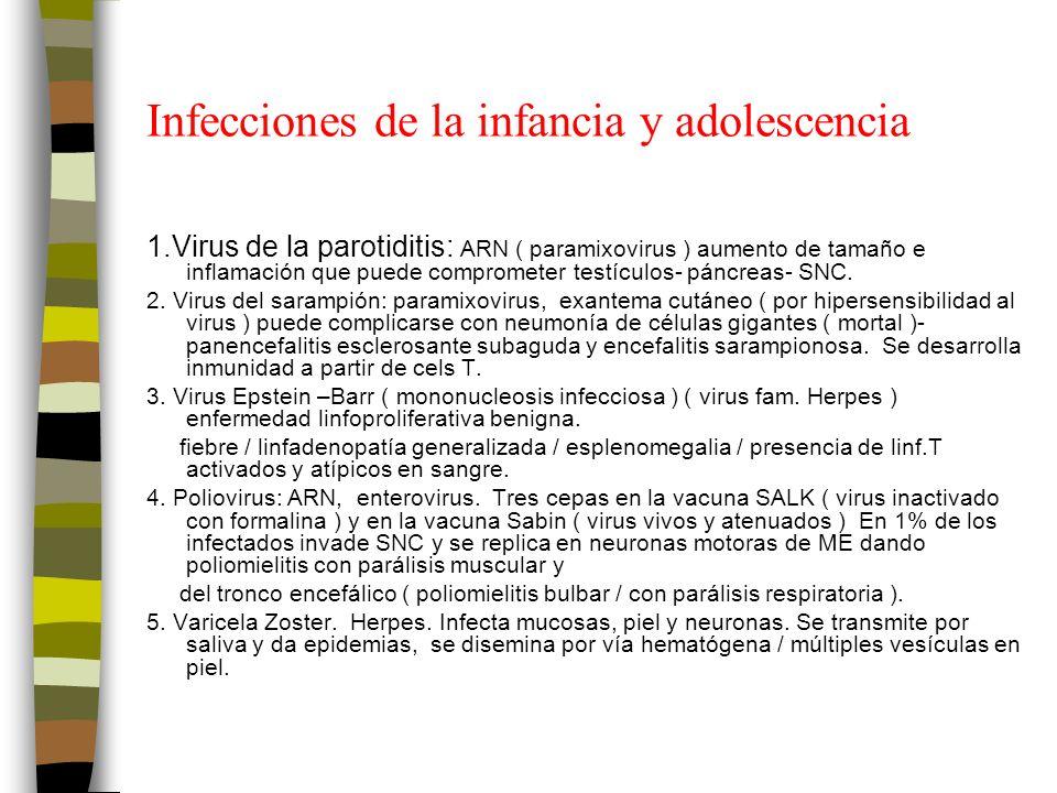 Infecciones de la infancia y adolescencia