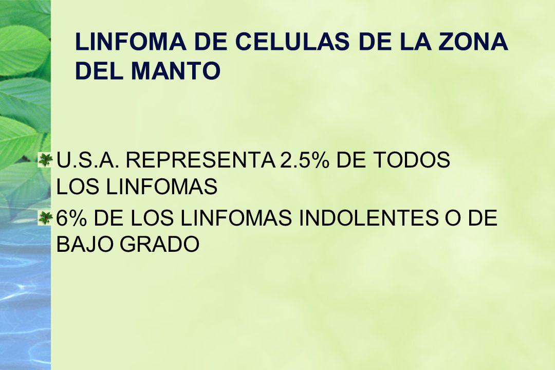 LINFOMA DE CELULAS DE LA ZONA DEL MANTO