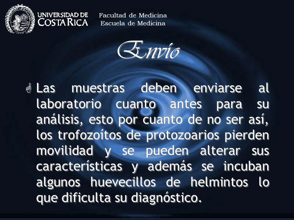 Facultad de MedicinaEscuela de Medicina. Envío.