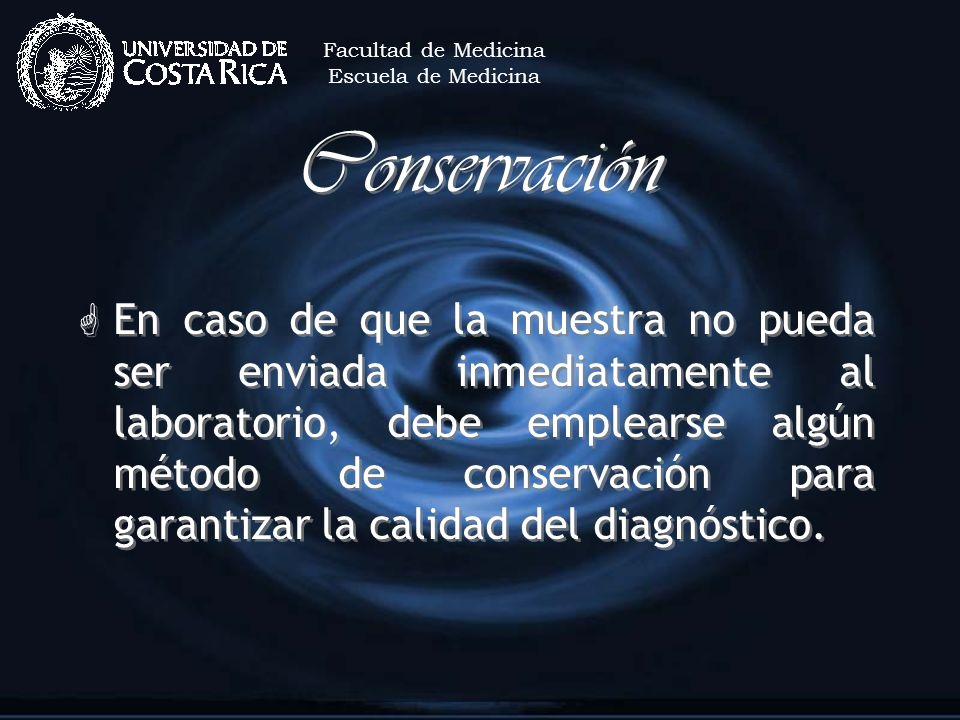 Facultad de MedicinaEscuela de Medicina. Conservación.