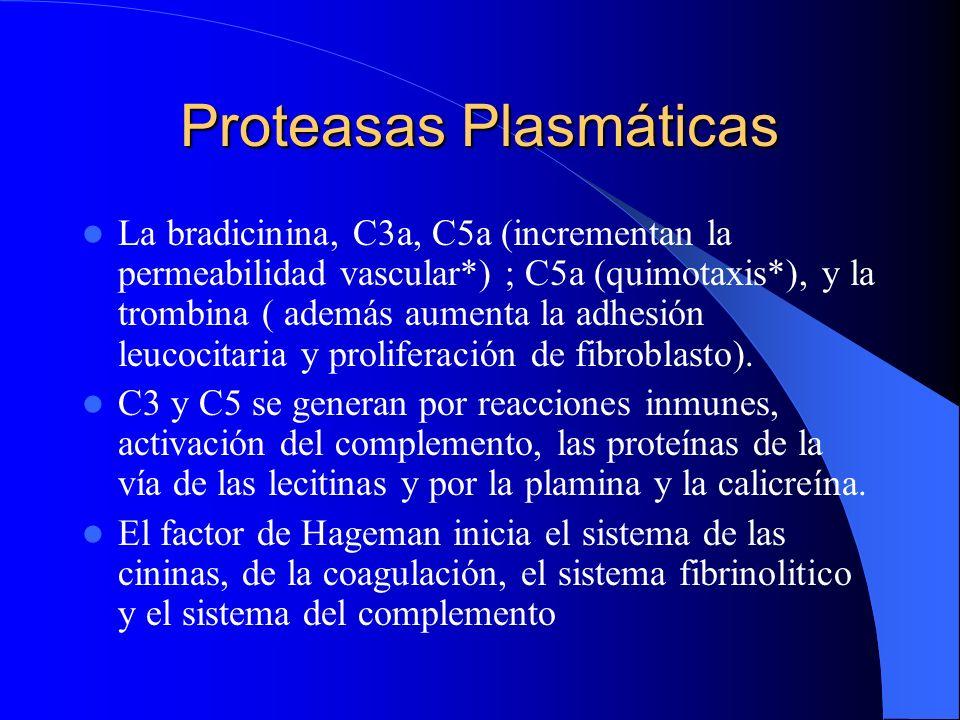 Proteasas Plasmáticas
