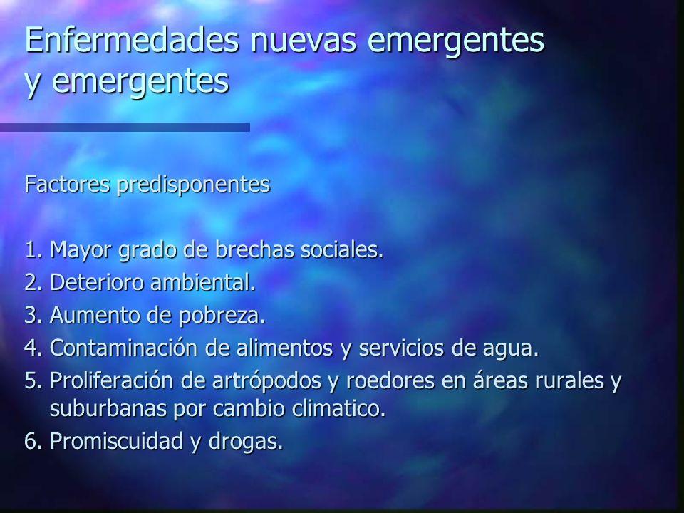 Enfermedades nuevas emergentes y emergentes