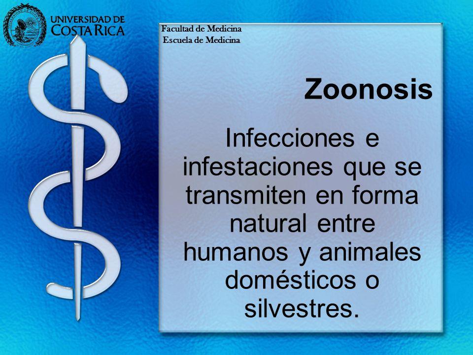 Facultad de Medicina Escuela de Medicina. Zoonosis.
