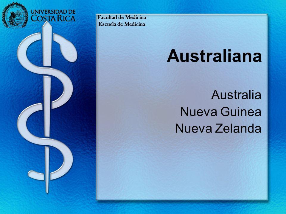 Australia Nueva Guinea Nueva Zelanda