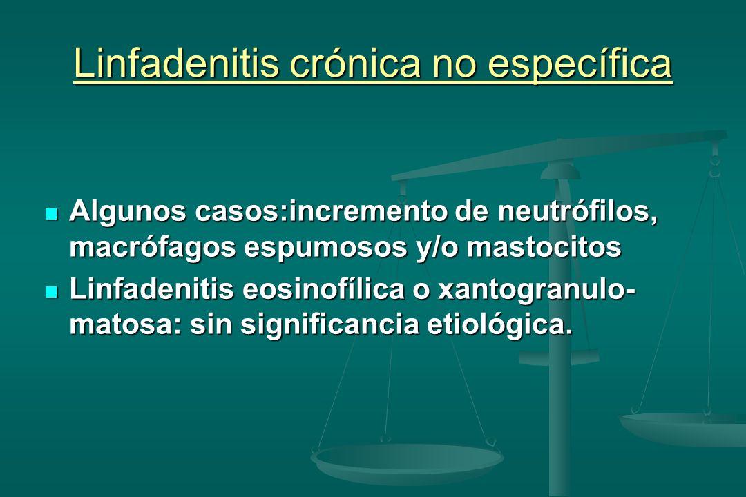Linfadenitis crónica no específica