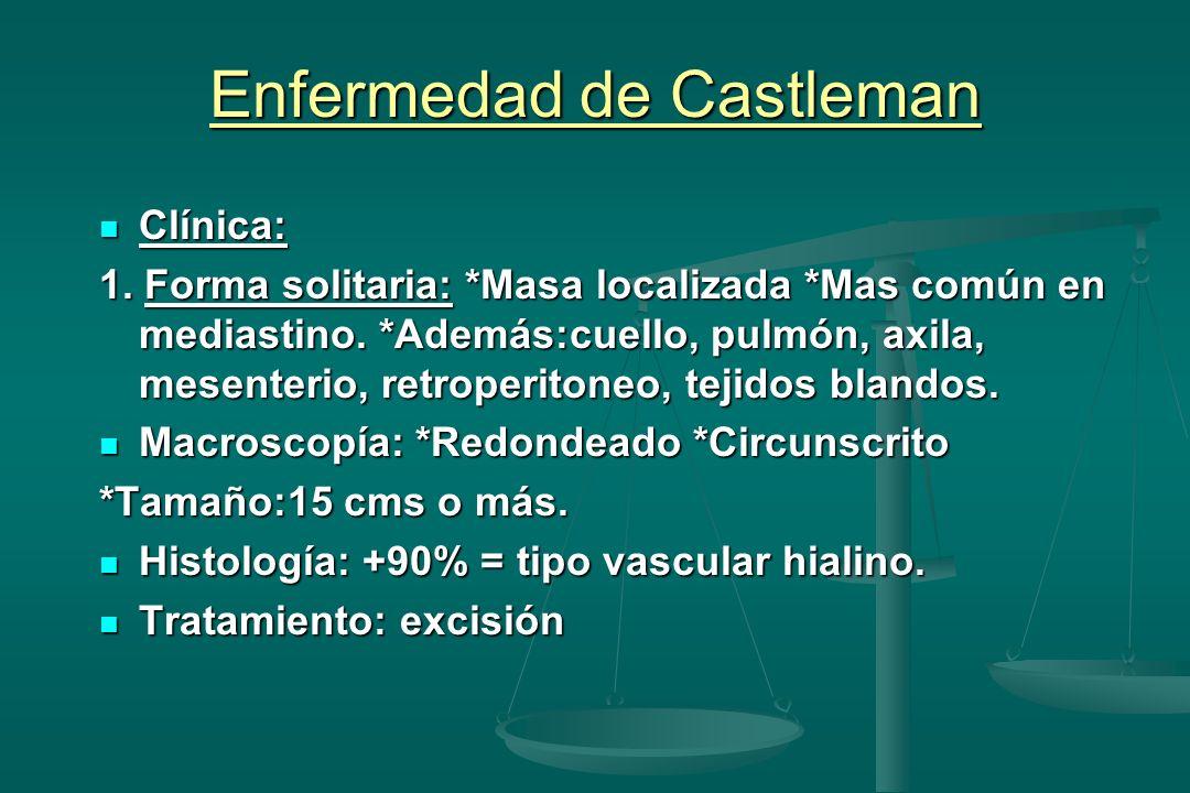 Enfermedad de Castleman