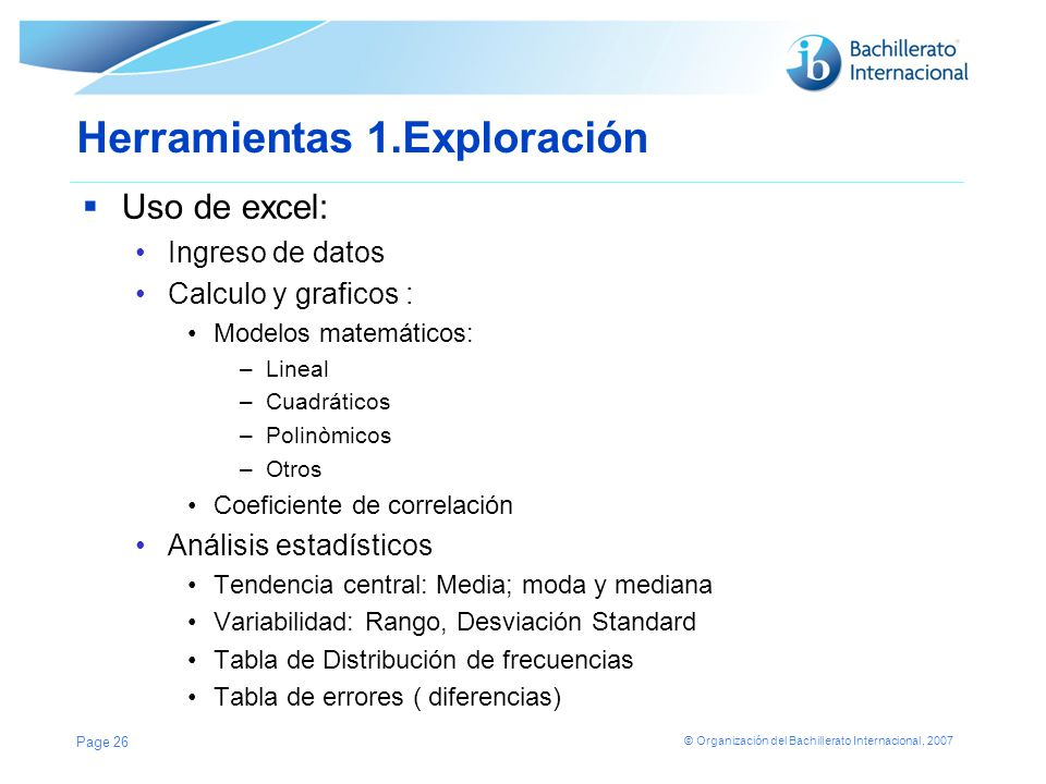 Herramientas 1.Exploración