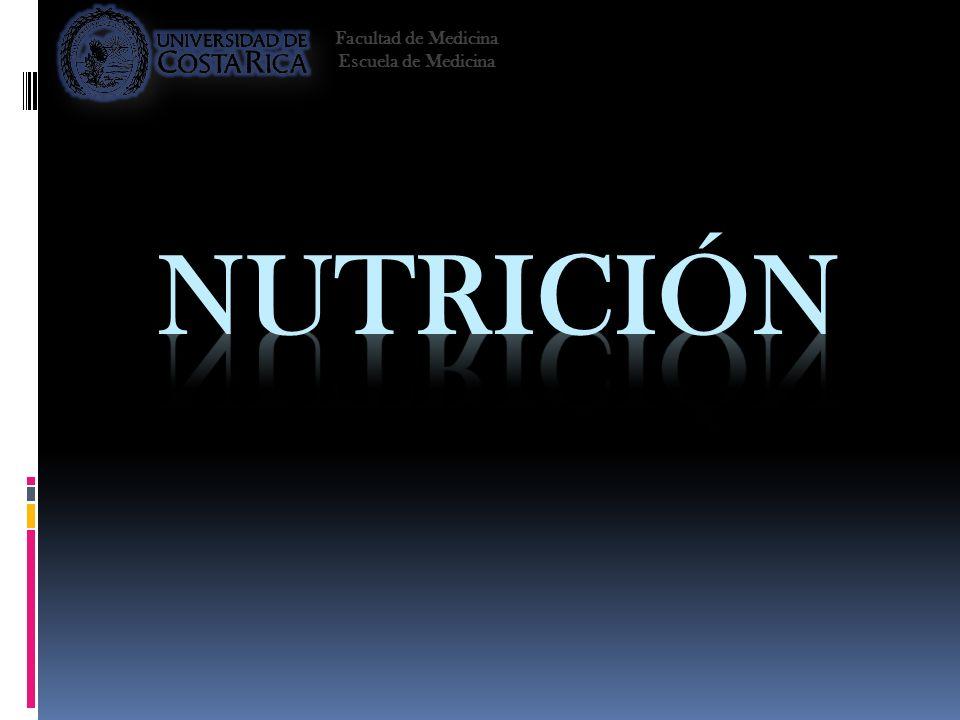 Facultad de Medicina Escuela de Medicina Nutrición 2008