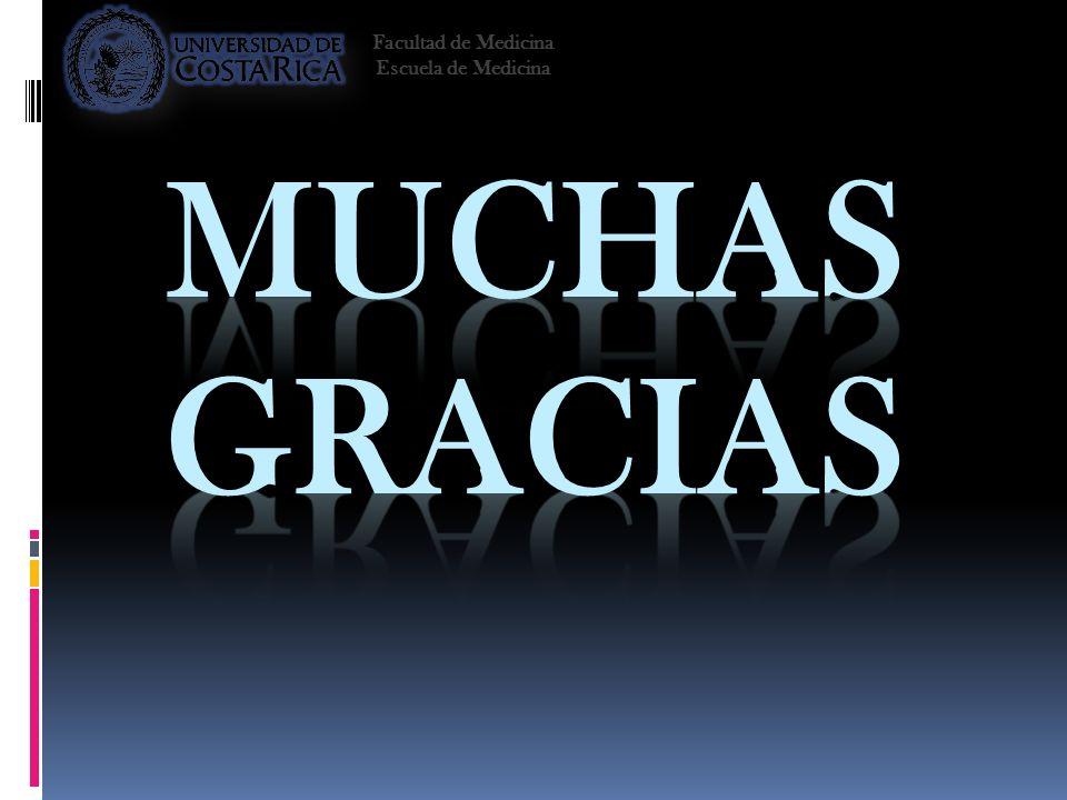 Facultad de Medicina Escuela de Medicina Muchas Gracias 2008