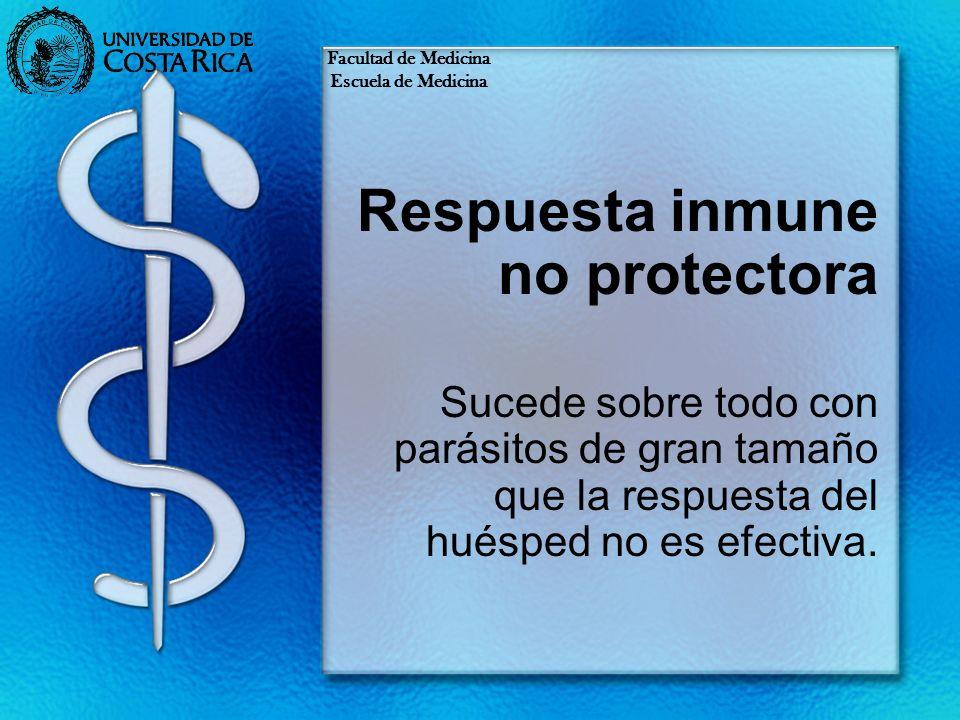 Respuesta inmune no protectora