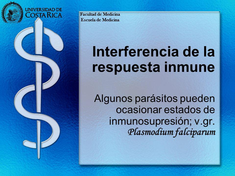 Interferencia de la respuesta inmune