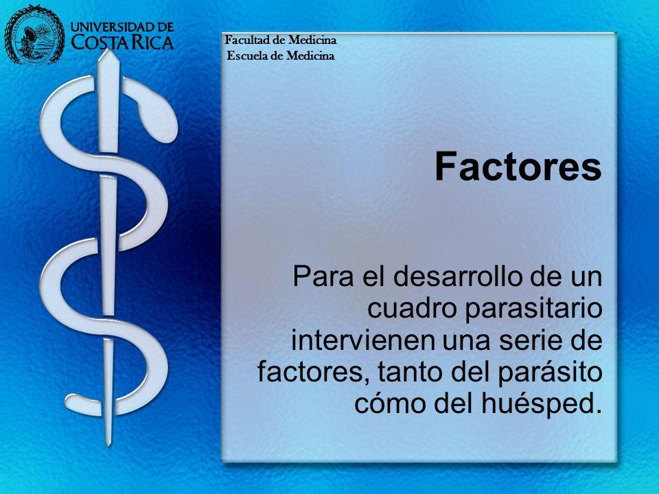 Facultad de MedicinaEscuela de Medicina. Factores.