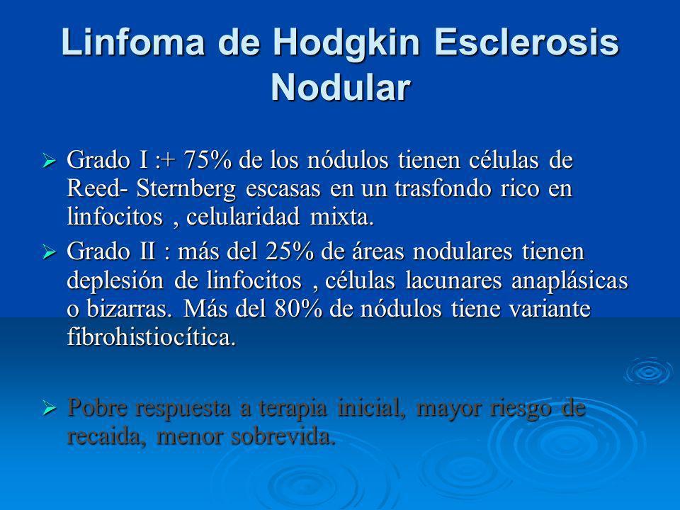Linfoma de Hodgkin Esclerosis Nodular