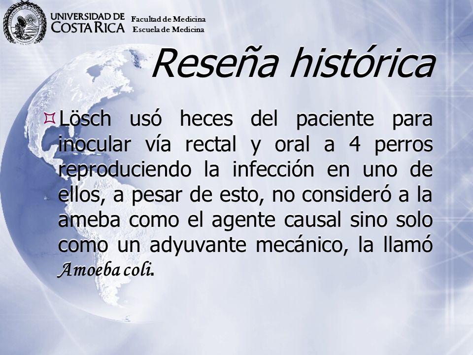 Facultad de MedicinaEscuela de Medicina. Reseña histórica.