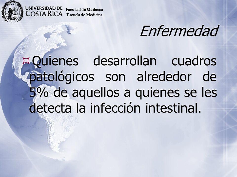 Facultad de Medicina Escuela de Medicina. Enfermedad.