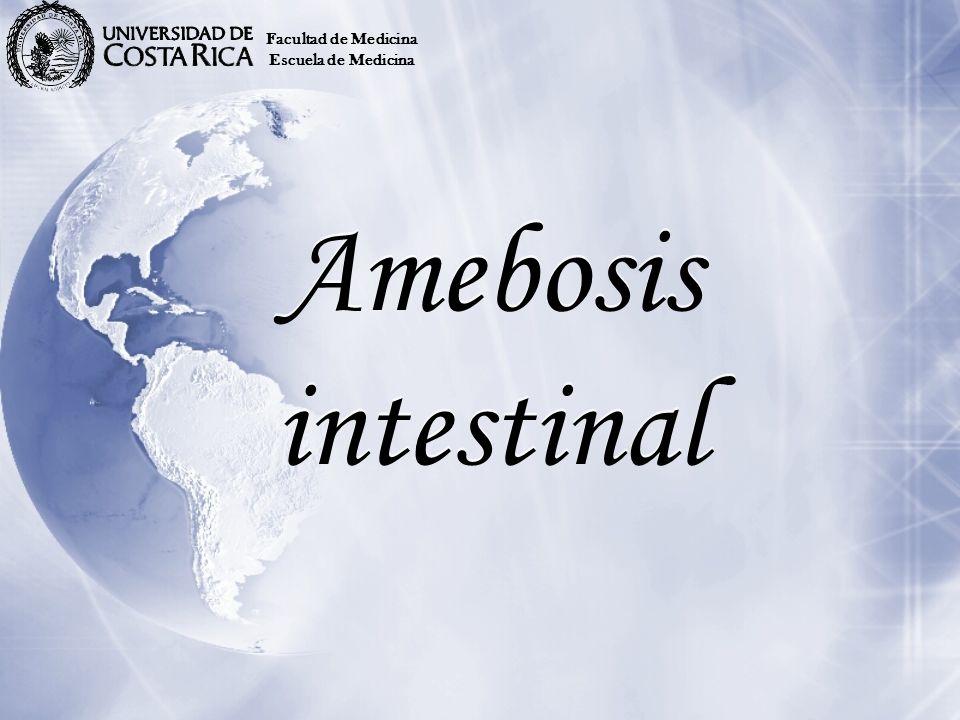 Facultad de Medicina Escuela de Medicina Amebosis intestinal