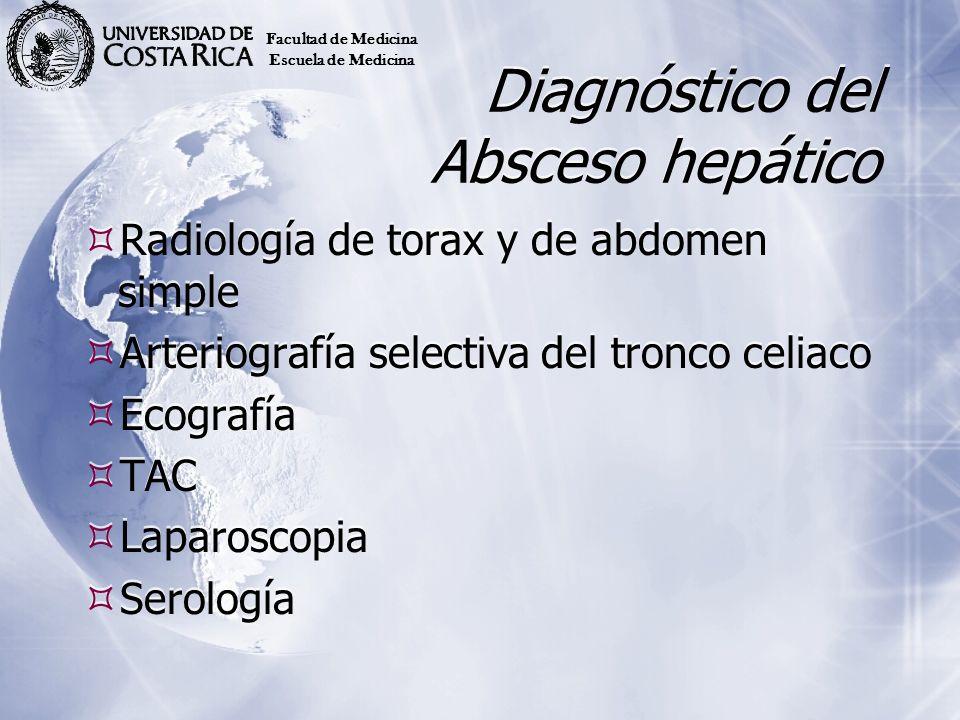Diagnóstico del Absceso hepático