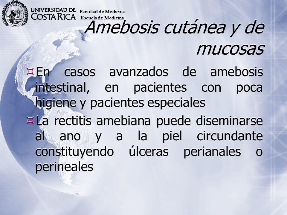 Amebosis cutánea y de mucosas
