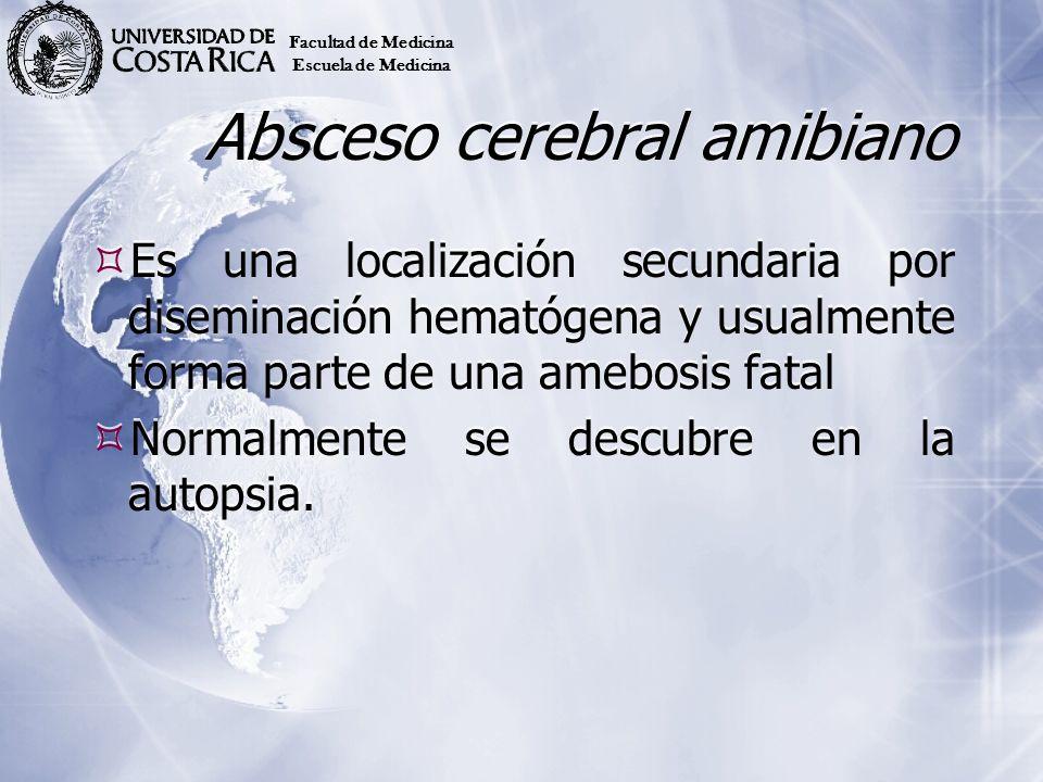 Absceso cerebral amibiano