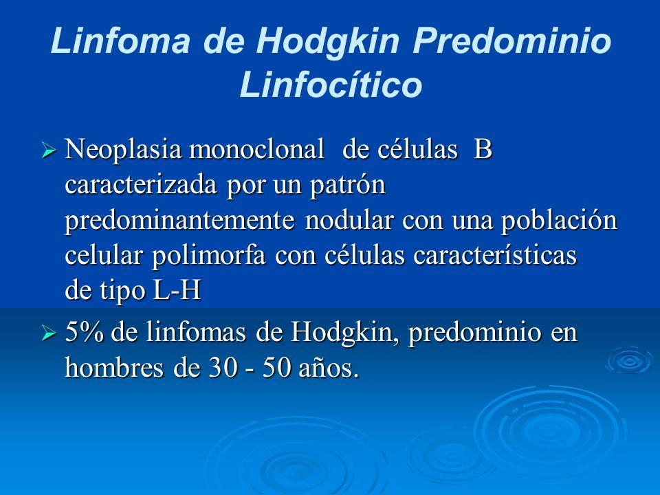 Linfoma de Hodgkin Predominio Linfocítico