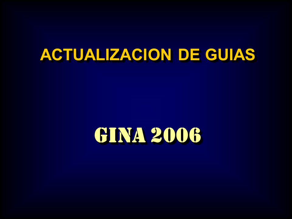 ACTUALIZACION DE GUIAS