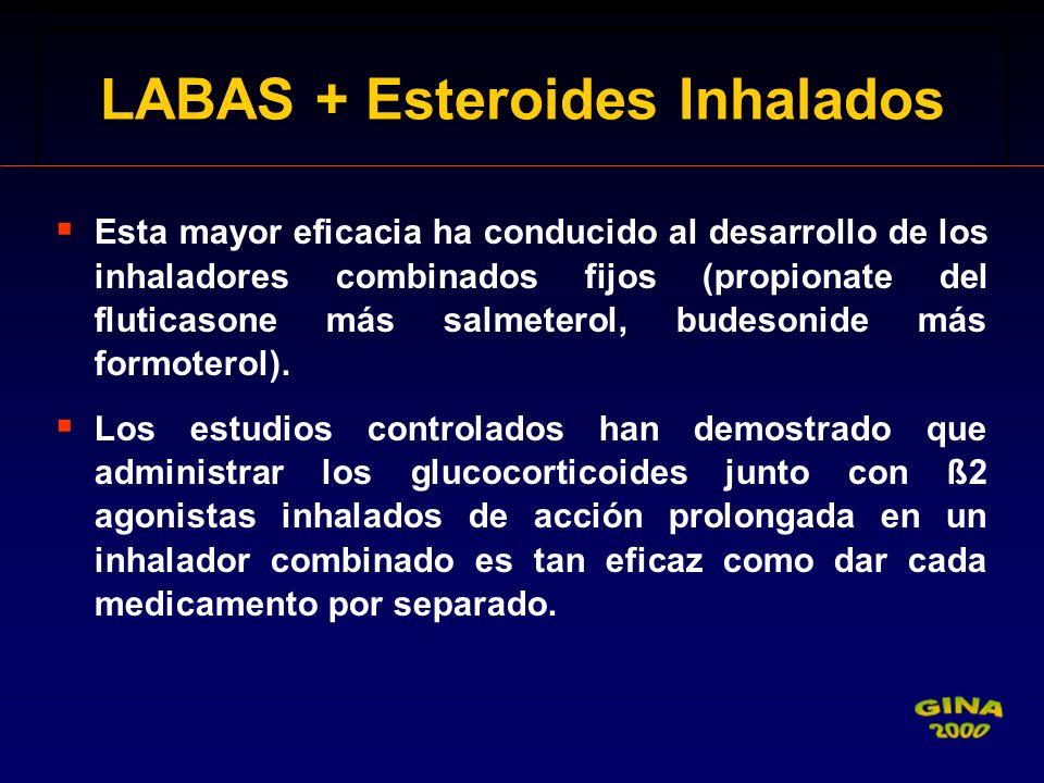 LABAS + Esteroides Inhalados