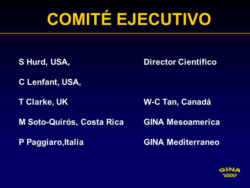 COMITÉ EJECUTIVO S Hurd, USA, Director Científico C Lenfant, USA,