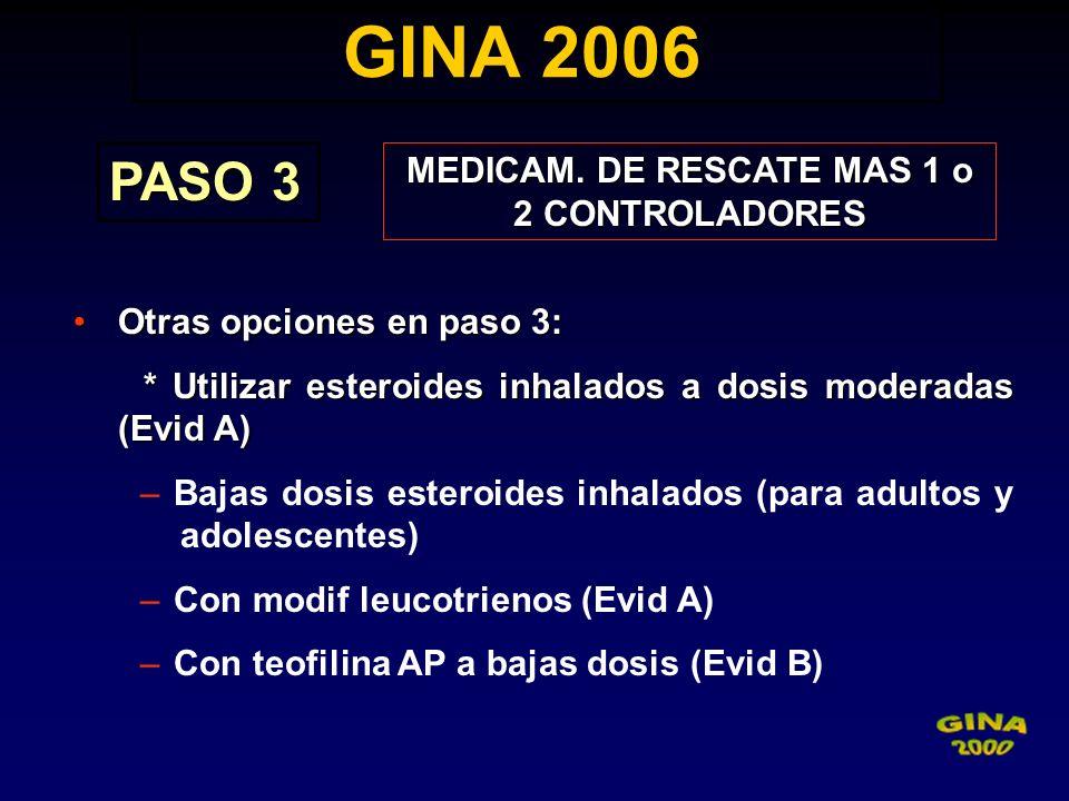 MEDICAM. DE RESCATE MAS 1 o 2 CONTROLADORES