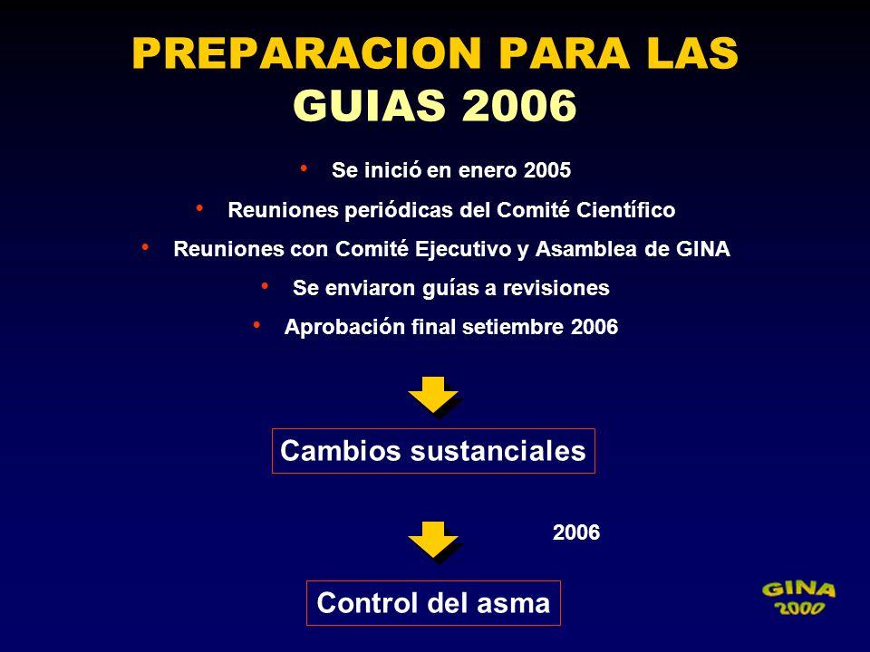 PREPARACION PARA LAS GUIAS 2006
