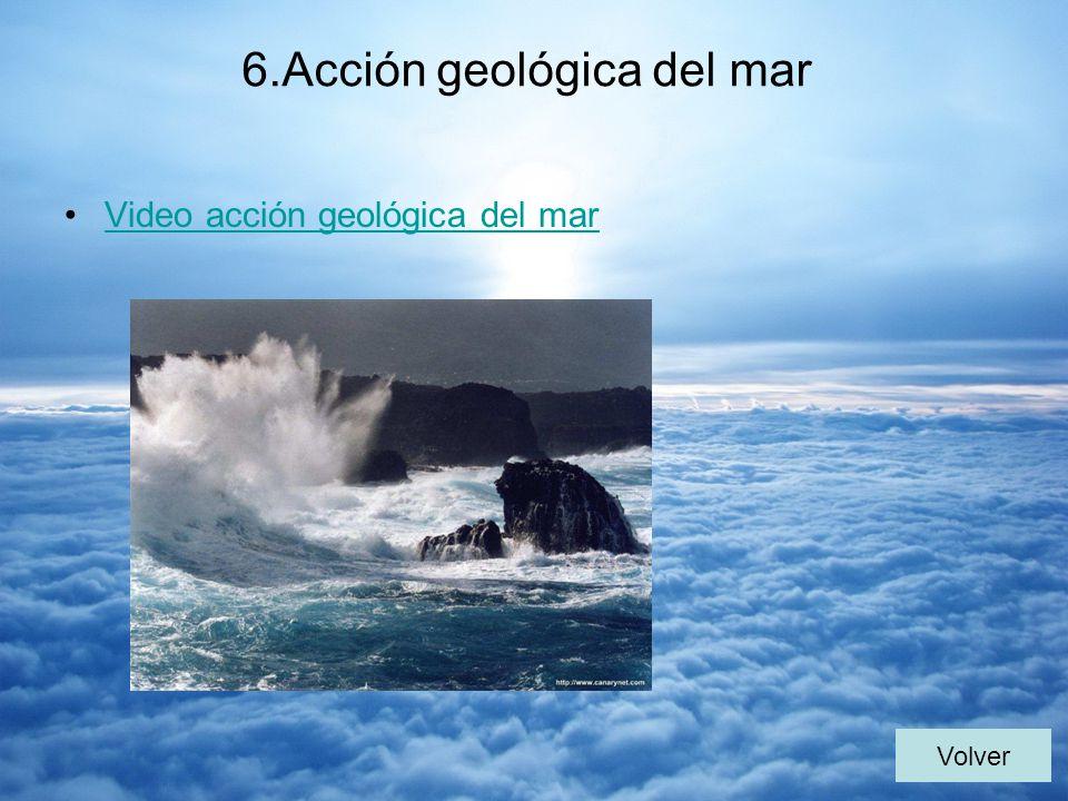 6.Acción geológica del mar