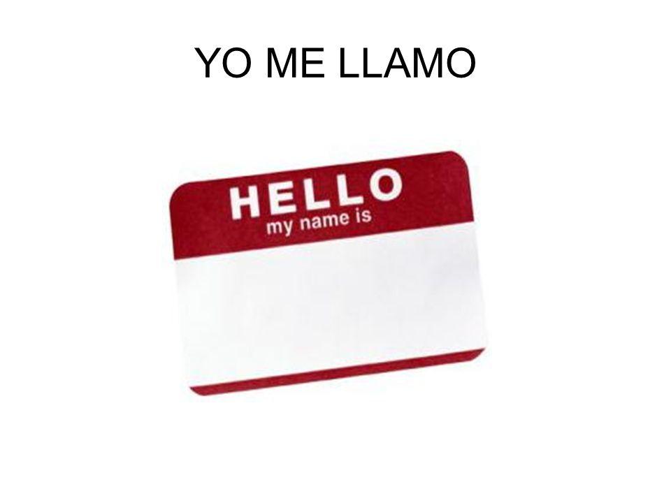 YO ME LLAMO