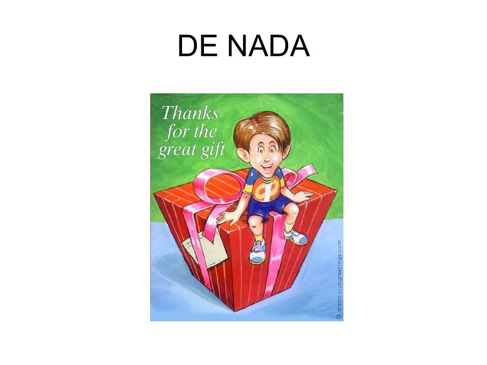 DE NADA