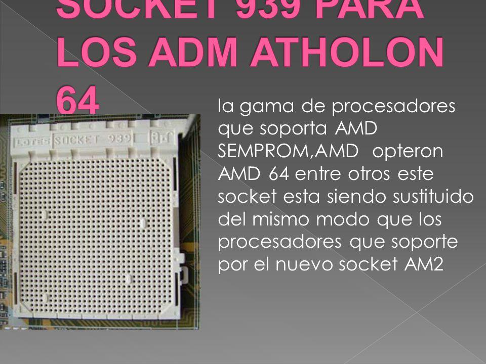 SOCKET 939 PARA LOS ADM ATHOLON 64