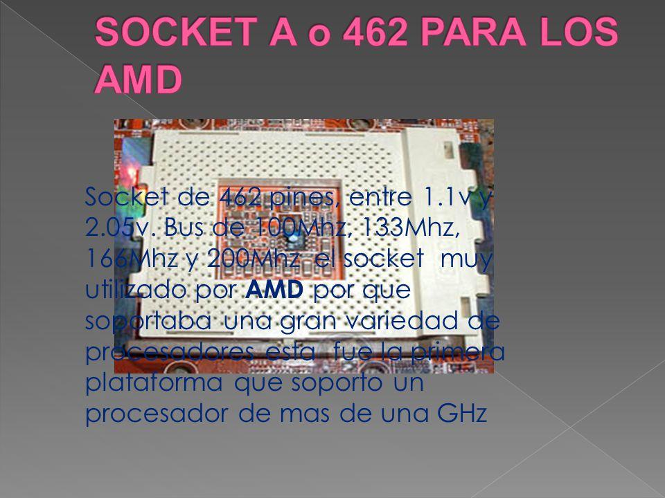 SOCKET A o 462 PARA LOS AMD