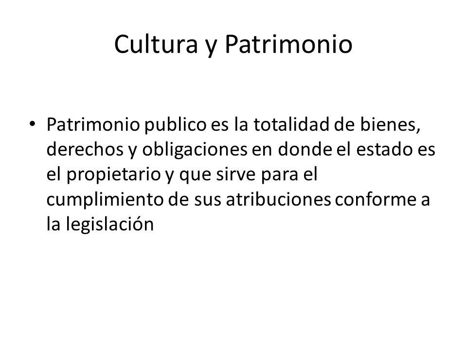 Cultura y Patrimonio