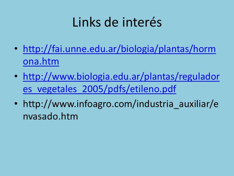 Links de interés http://fai.unne.edu.ar/biologia/plantas/hormona.htm