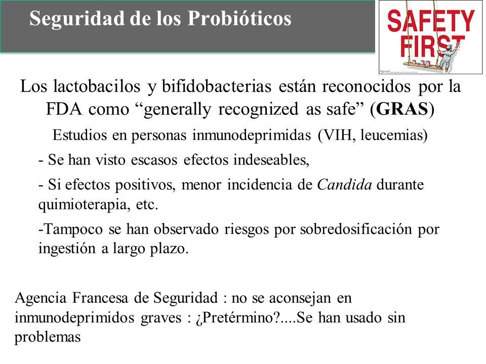 Seguridad de los Probióticos