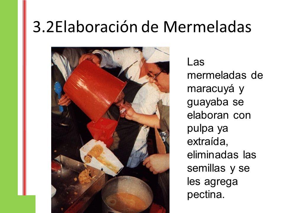3.2Elaboración de Mermeladas