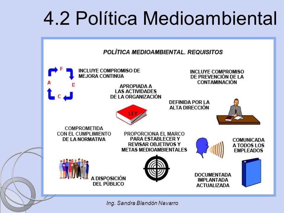 4.2 Política Medioambiental