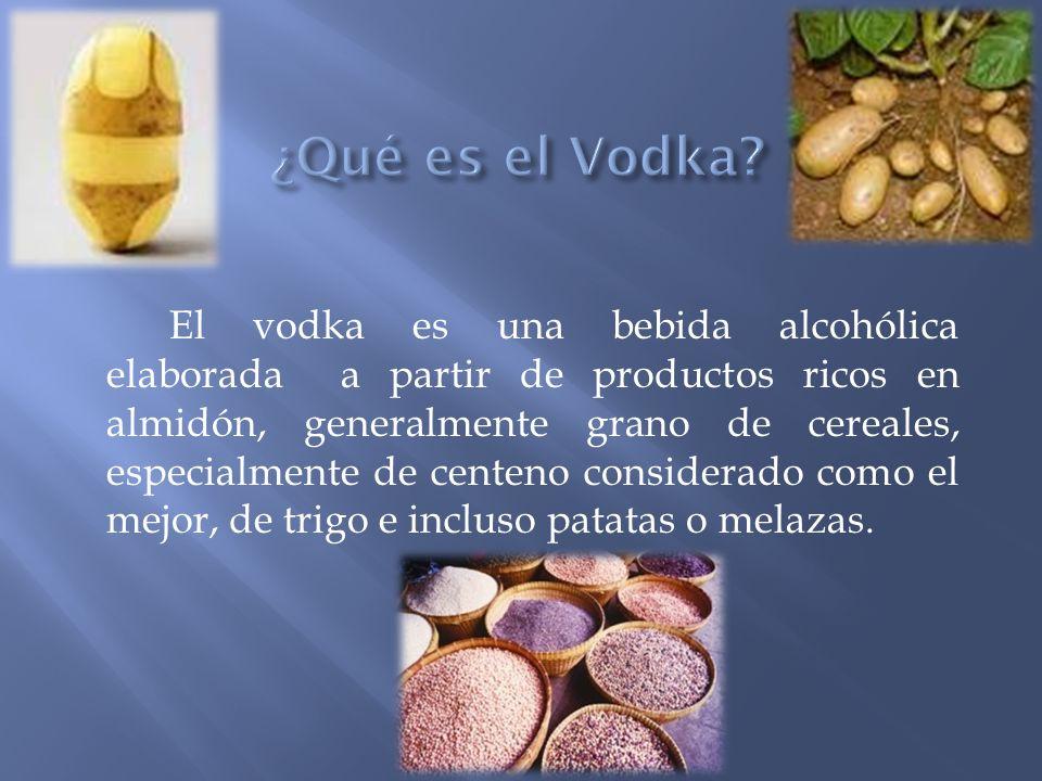 ¿Qué es el Vodka