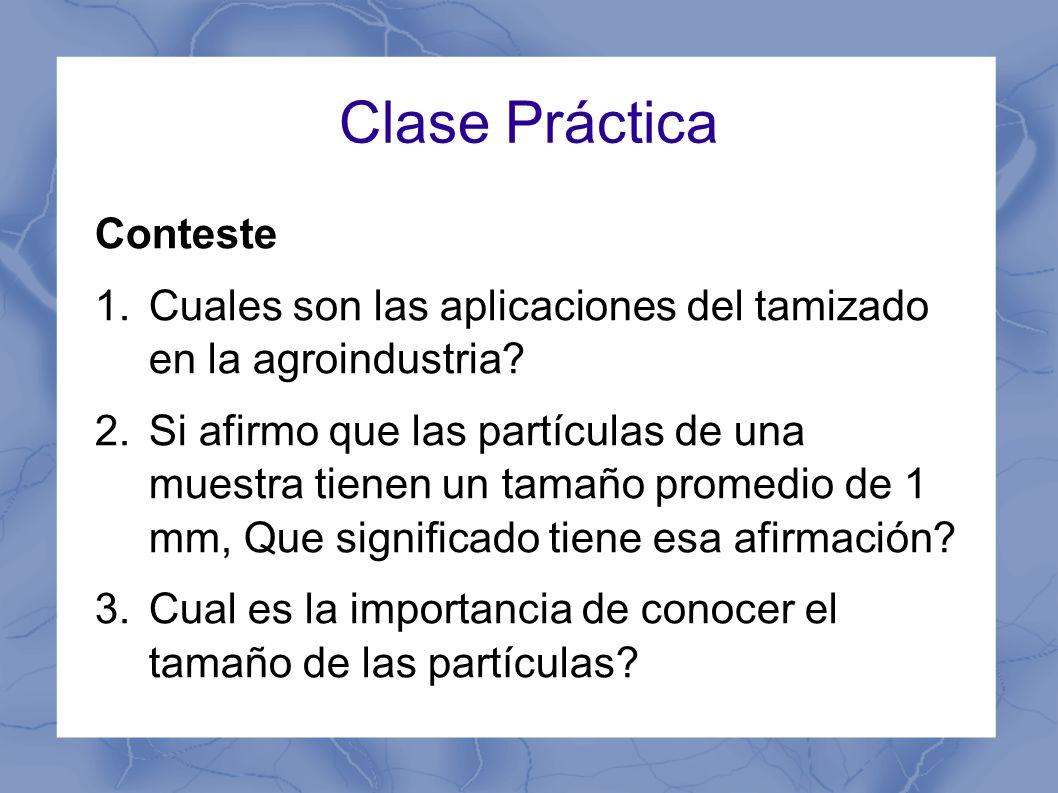 Clase Práctica Conteste