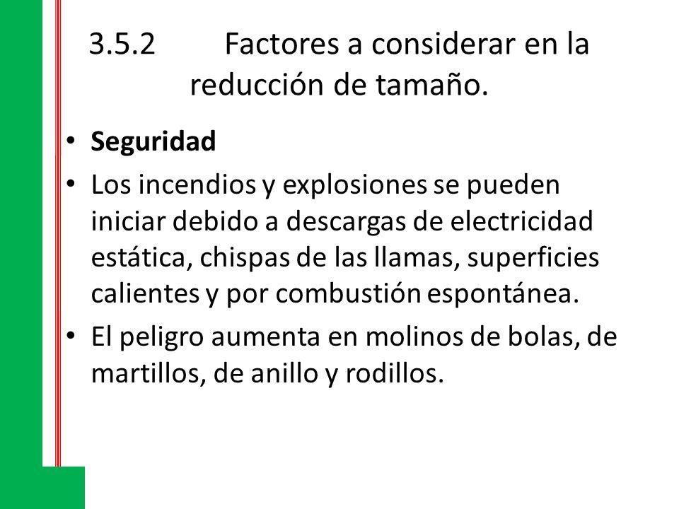 3.5.2 Factores a considerar en la reducción de tamaño.