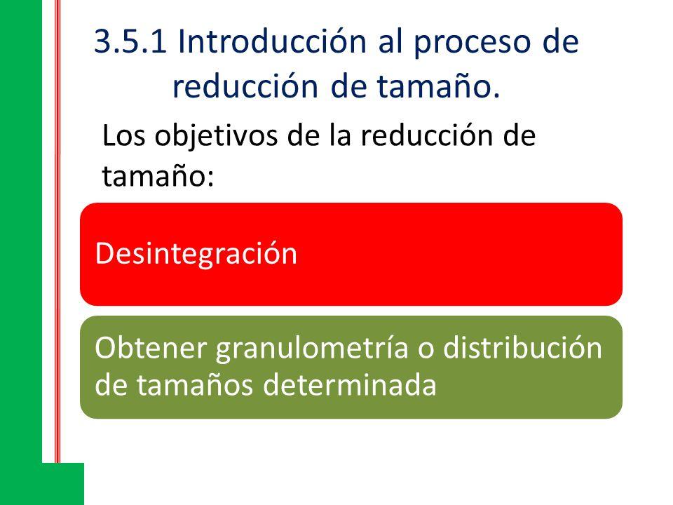 3.5.1 Introducción al proceso de reducción de tamaño.