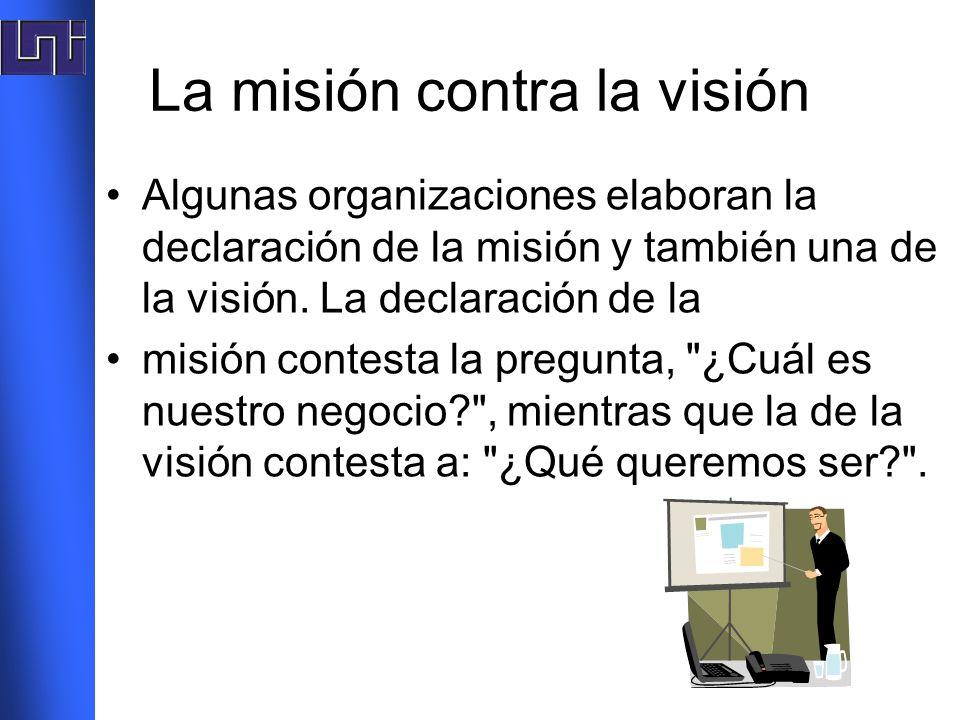 La misión contra la visión