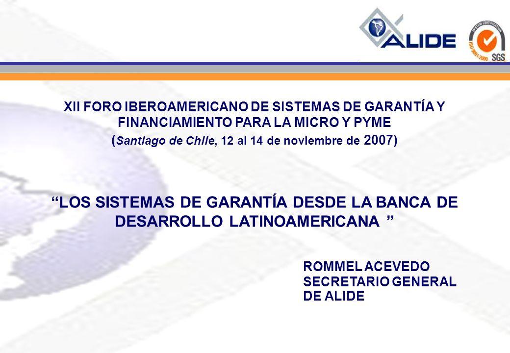 (Santiago de Chile, 12 al 14 de noviembre de 2007)