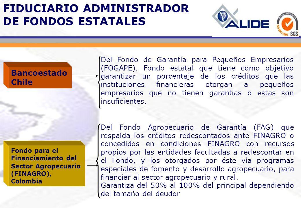 FIDUCIARIO ADMINISTRADOR DE FONDOS ESTATALES