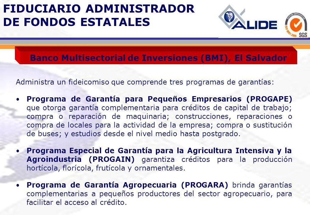 Banco Multisectorial de Inversiones (BMI), El Salvador