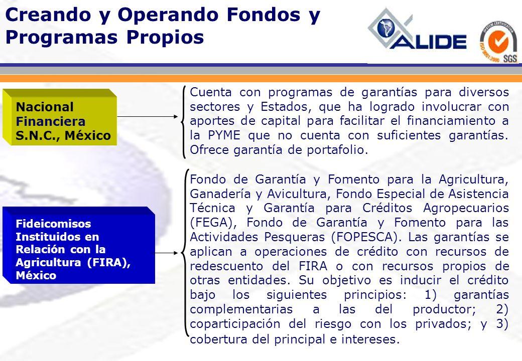 Creando y Operando Fondos y Programas Propios