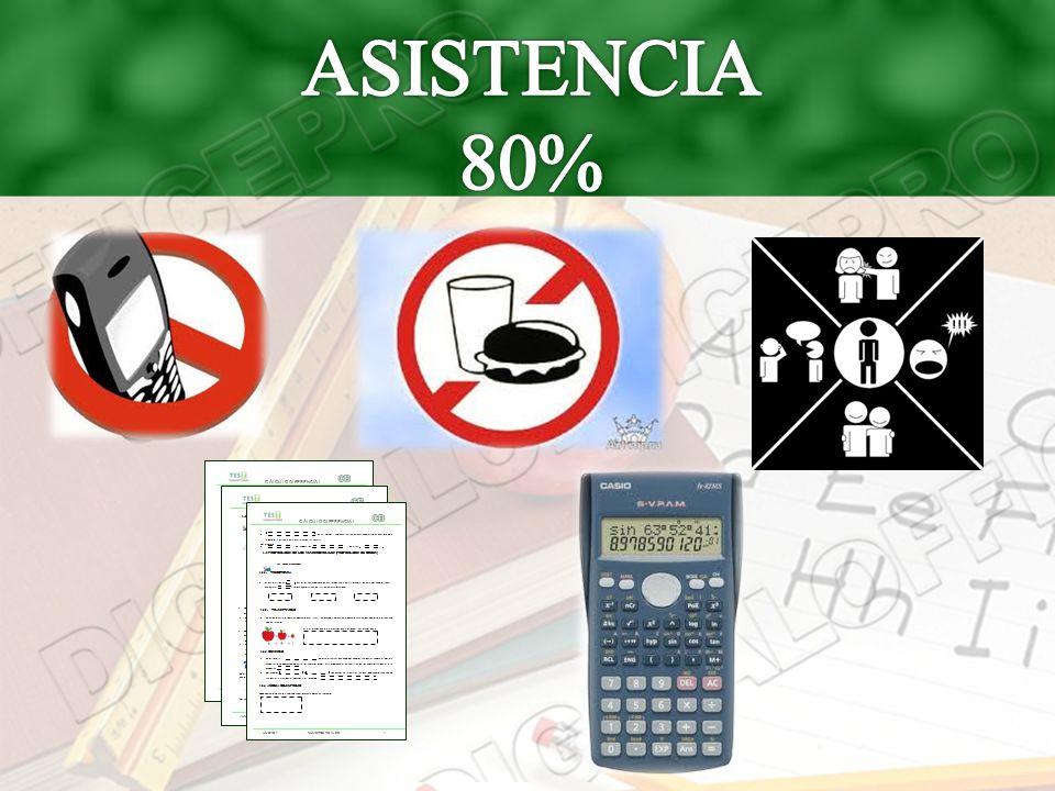 ASISTENCIA 80%